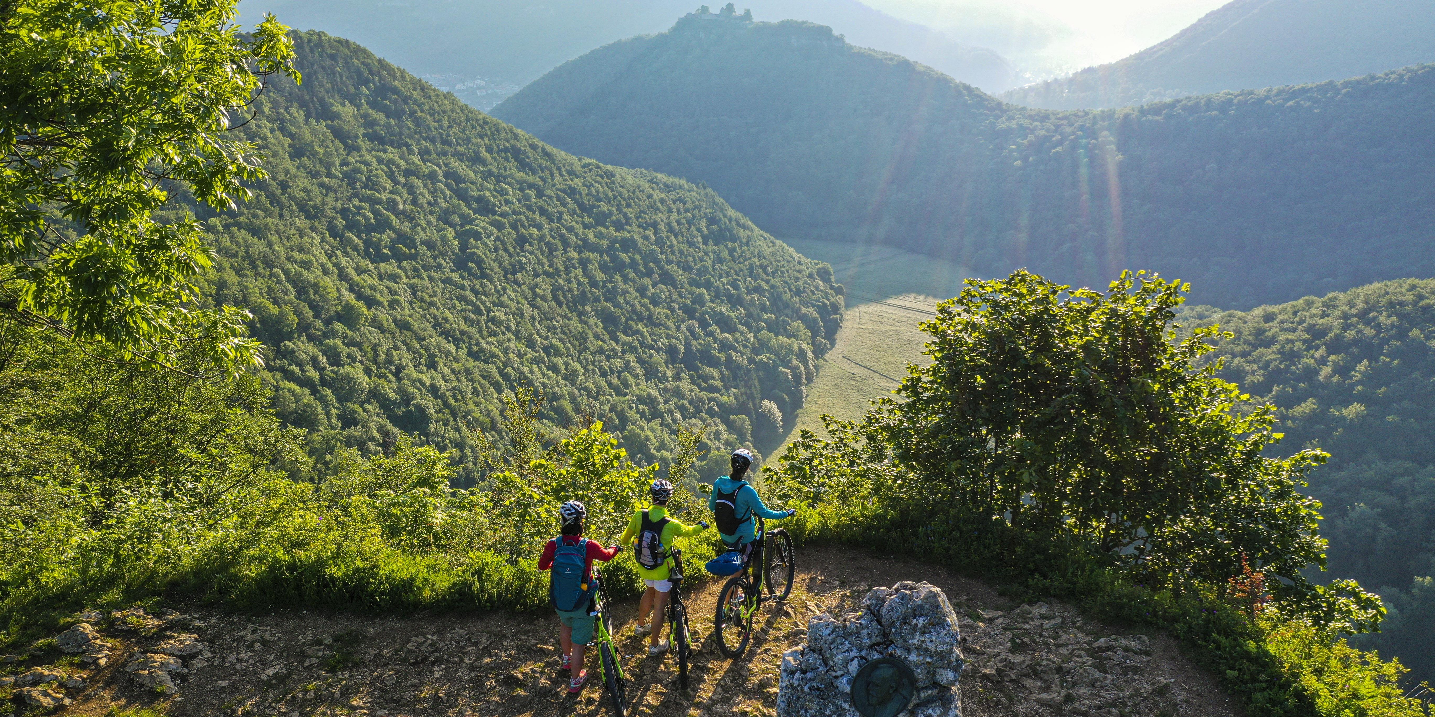"""Radtour """"Albcrossing"""" auf der Schwäbischen Alb bei Bad Urach"""